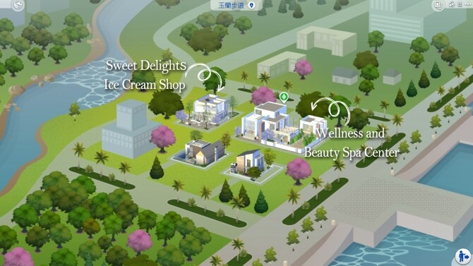 Sims 4 Wellness and Beauty Spa Center at Ruby's Home Design