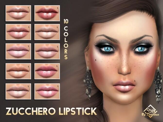 Sims 4 Zucchero Lipstick by Devirose at TSR