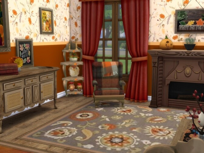 Waiting For Autumn Set by seimar8 at TSR image 1050 670x503 Sims 4 Updates