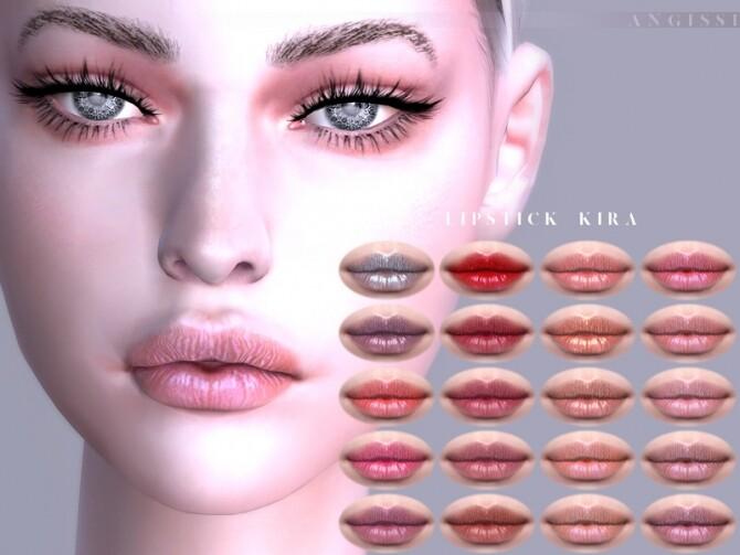 Lipstick Kira by ANGISSI at TSR image 1052 670x503 Sims 4 Updates