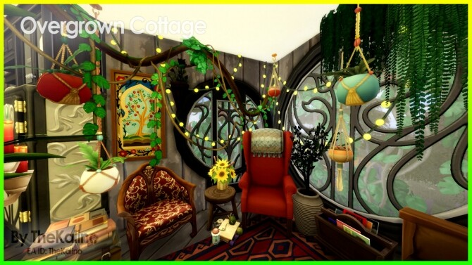 Sims 4 Overgrown Cottage at Kalino
