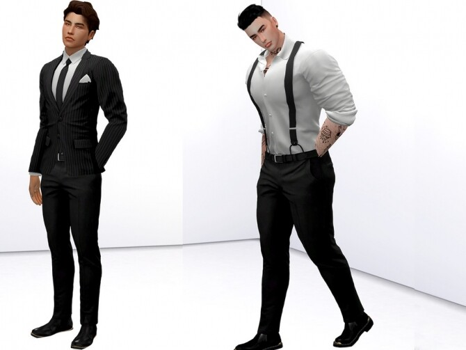 Sims 4 Models Men Pose Pack by Beto ae0 at TSR