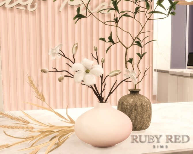 Sims 4 Wellness and Beauty Spa Center CC Set at Ruby's Home Design