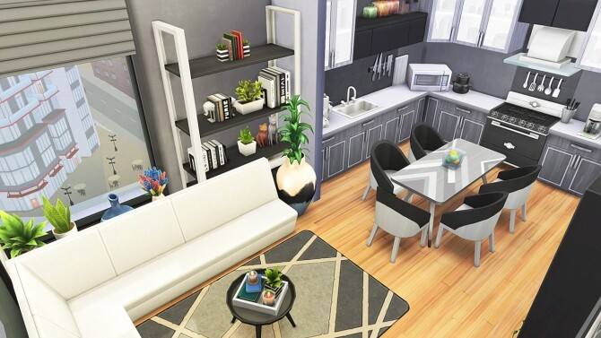 Sims 4 GENERATIONS FAMILY APARTMENT at Aveline Sims