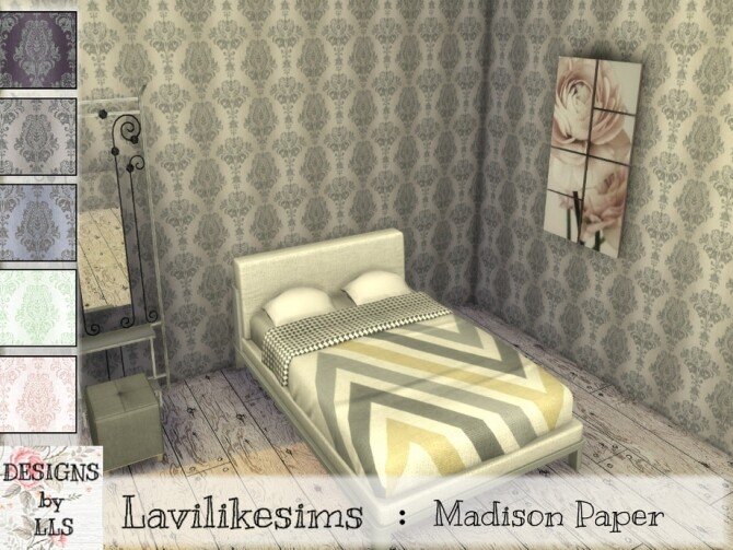 Sims 4 Madison Paper by lavilikesims at TSR