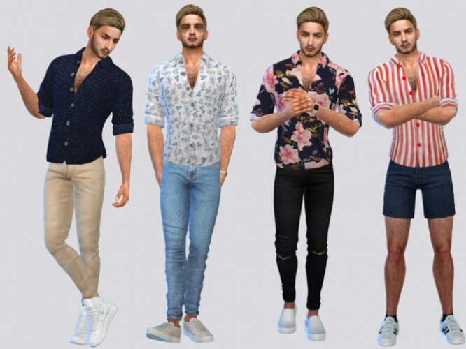 Toby Casual Shirts by McLayneSims
