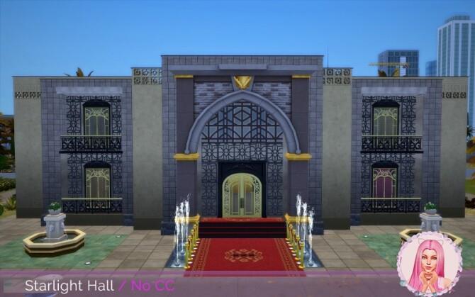 Sims 4 Starlight Hall at MikkiMur