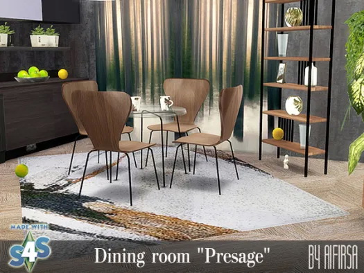 Presage dining room at Aifirsa image 10921 Sims 4 Updates