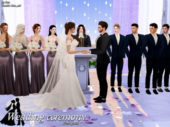Wedding ceremony Pose Pack by Beto_ae0