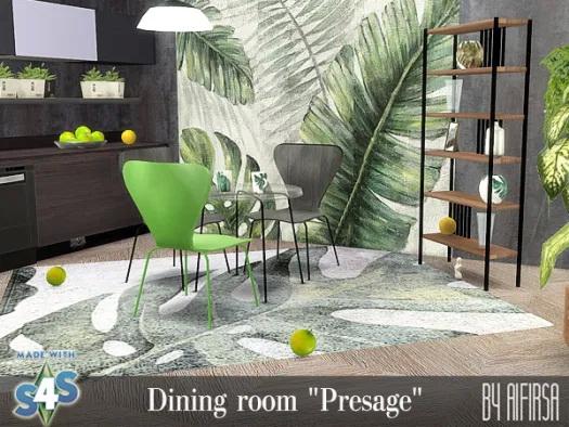 Presage dining room at Aifirsa image 11025 Sims 4 Updates