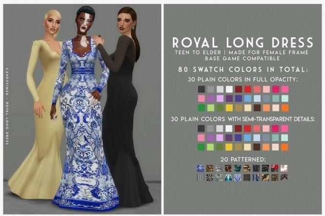 ROYAL LONG DRESS