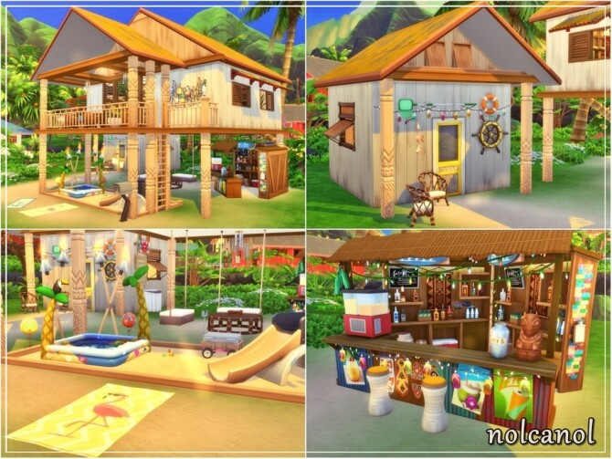 Sunny Thalia House by nolcanol at TSR image 11101 670x503 Sims 4 Updates