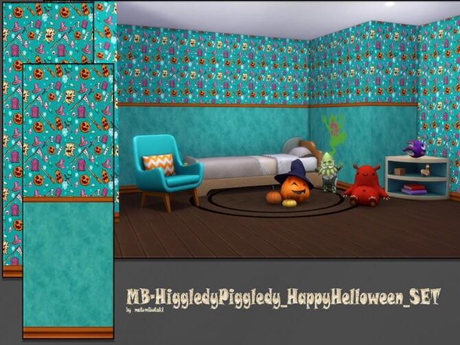 Sims 4 MB Higgledy Piggledy Halloween SET by matomibotaki at TSR