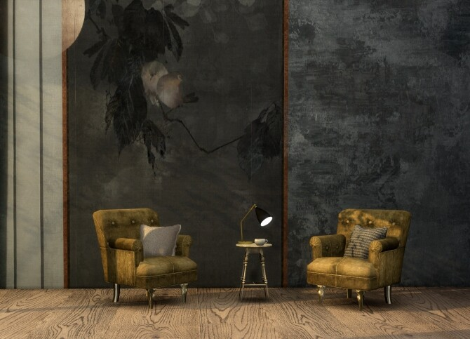 Sims 4 Fitzroy wall panels at Tilly Tiger