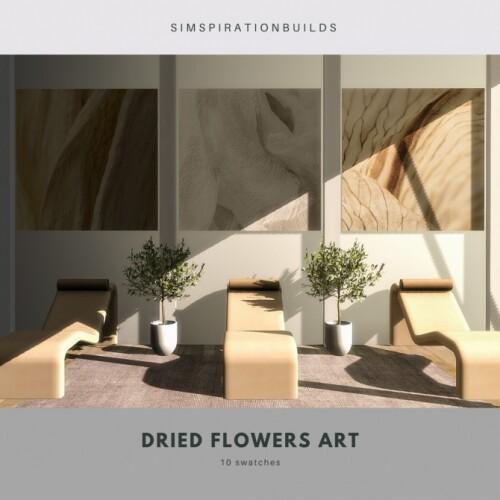 Dried Flowers Art