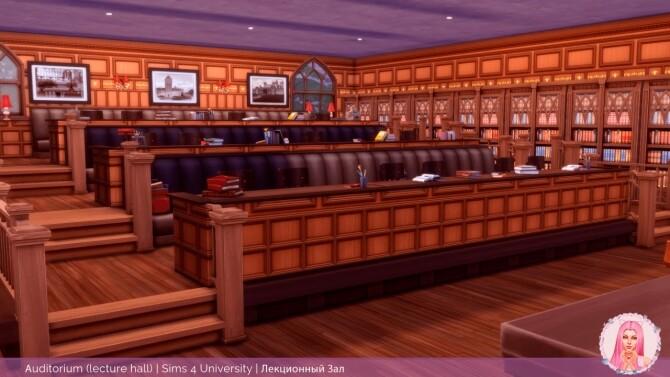 Sims 4 Auditorium Lecture Hall at MikkiMur