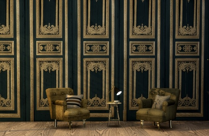 Fitzroy wall panels at Tilly Tiger image 1137 670x437 Sims 4 Updates