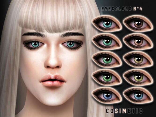 Eyecolors N4 by cosimetic