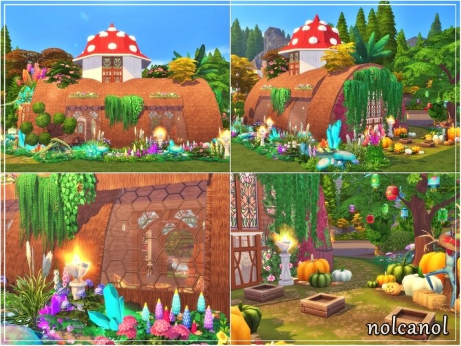 Tree trunk house by nolcanol at TSR image 11515 670x503 Sims 4 Updates