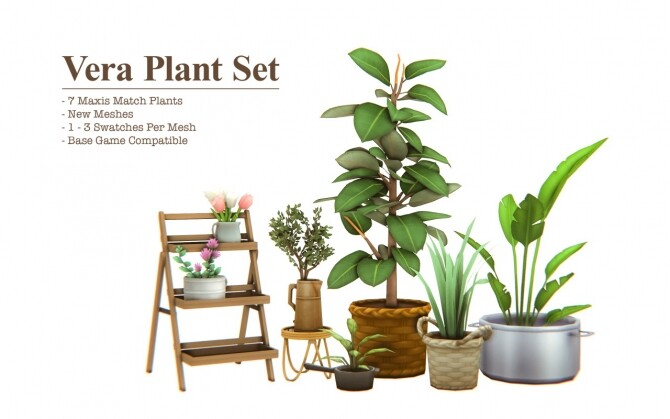 Vera Plant Set