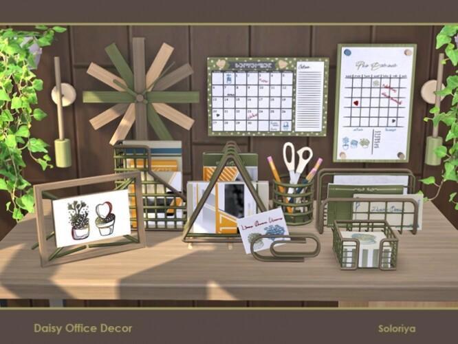 Daisy Office Decor by soloriya