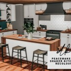 Peacemaker Shaker Kitchen Recolours