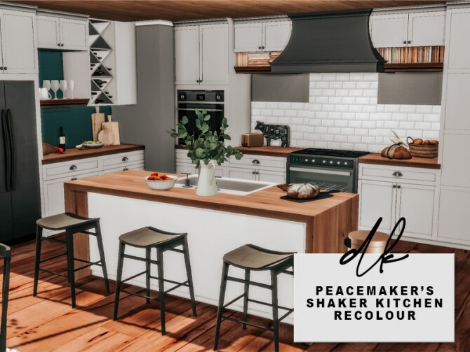 Peacemaker's Shaker Kitchen Recolours at DK SIMS image 1163 670x503 Sims 4 Updates