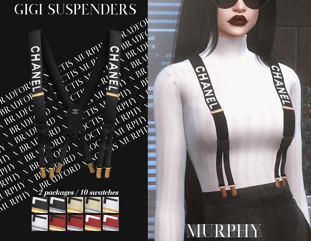 Gigi Suspenders by Silence Bradford