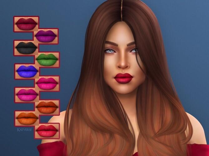 Sims 4 Briar Lipstick at Katverse