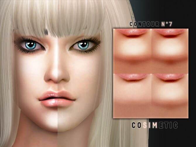 Contour N7 by cosimetic at TSR image 1196 670x503 Sims 4 Updates