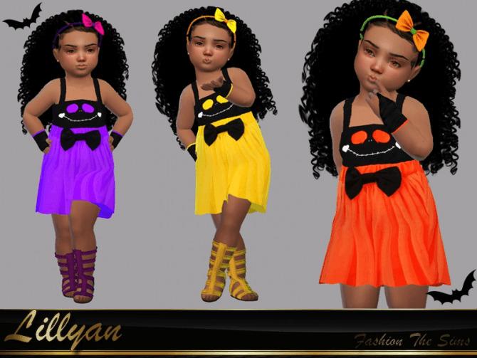 Sims 4 Dress Melissa baby by LYLLYAN at TSR
