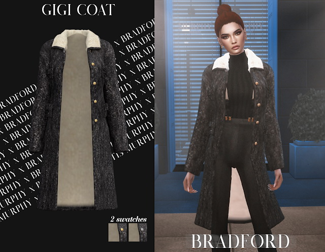 Gigi Coat by Silence Bradford