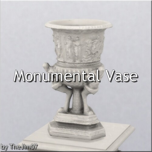 Monumental Vase by TheJim07