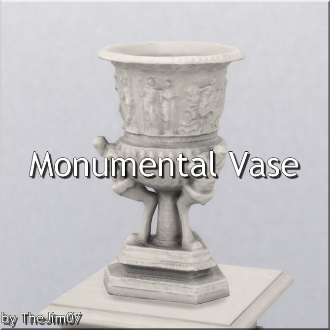 Monumental Vase by TheJim07 at Mod The Sims image 12017 670x670 Sims 4 Updates