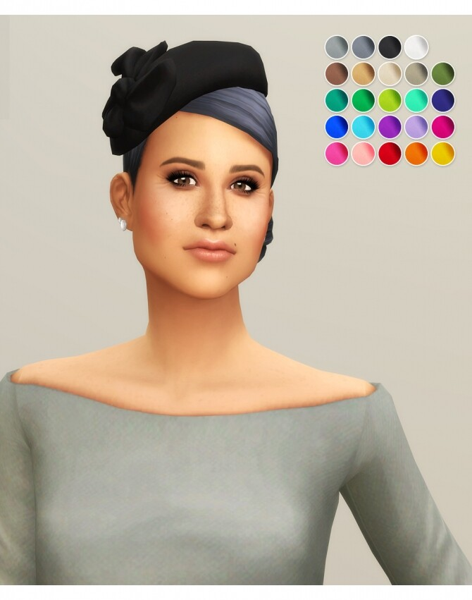 Sims 4 Duchess of Hat VI at Rusty Nail