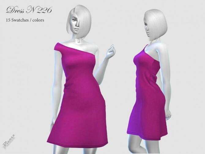 Sims 4 DRESS N 226 by pizazz at TSR