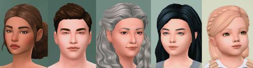 Sims 4 Fleur skinblend at Flowermilk