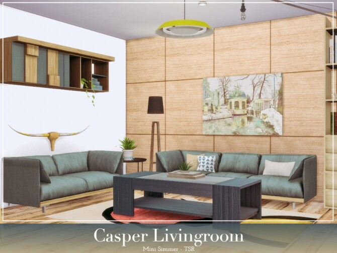 Casper Livingroom by Mini Simmer