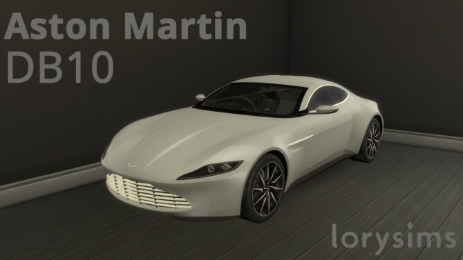 Aston Martin DB10 by LorySims