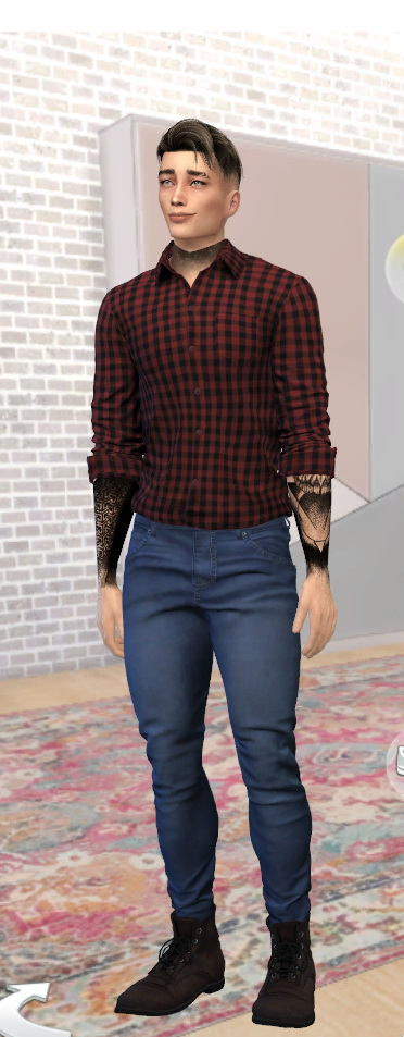 Sims 4 Hernan Lauer by Jonabelorio at L'UniverSims