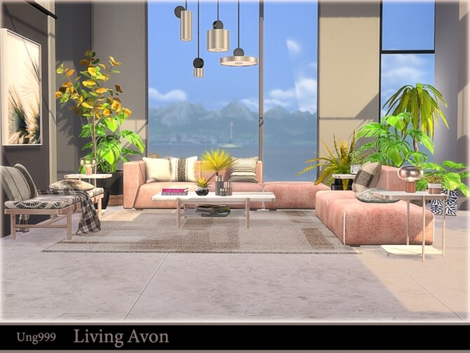 Living Avon by ung999 at TSR image 1222 670x503 Sims 4 Updates