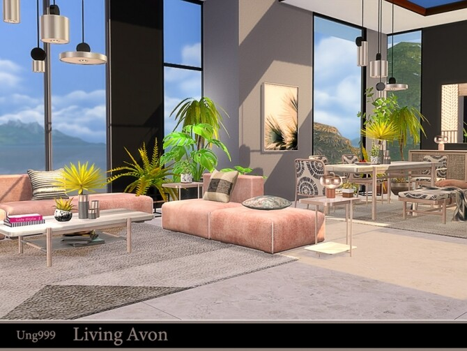Living Avon by ung999 at TSR image 1232 670x503 Sims 4 Updates