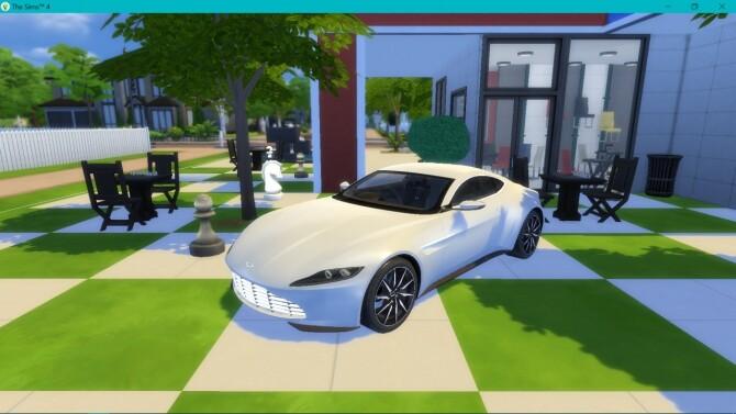 Sims 4 Aston Martin DB10 at LorySims