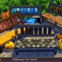Halloween fun bench by evi