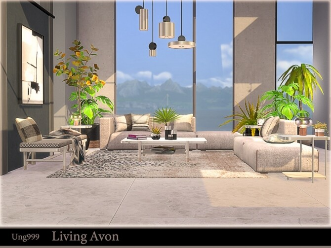 Living Avon by ung999 at TSR image 1242 670x503 Sims 4 Updates