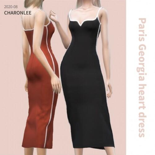 Paris Georgia heart dress