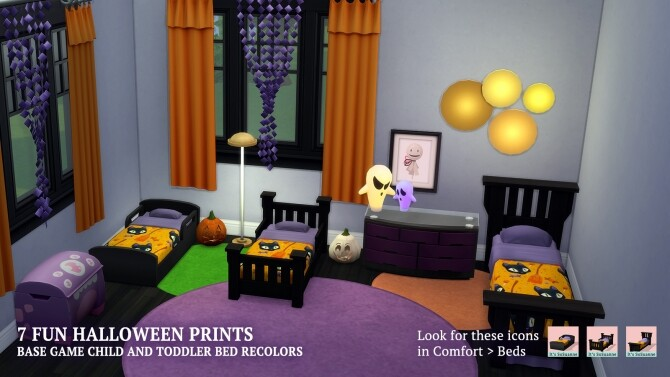 Celebrate Halloween Single Toddler Beds by ImSuanne