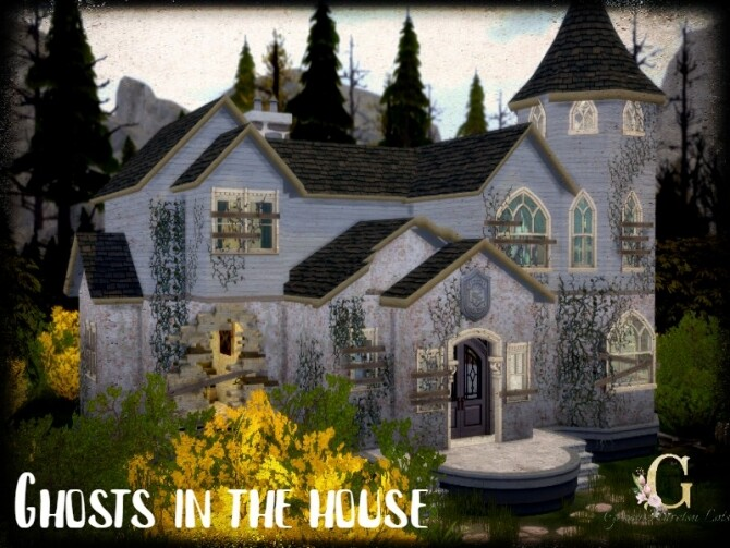Sims 4 Ghosts in the house by GenkaiHaretsu at TSR