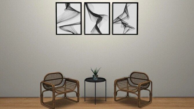Abstract Wall Art at Sunkissedlilacs image 12619 670x377 Sims 4 Updates