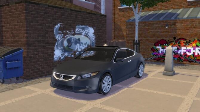Sims 4 2008 Honda Accord Coupe at Modern Crafter CC